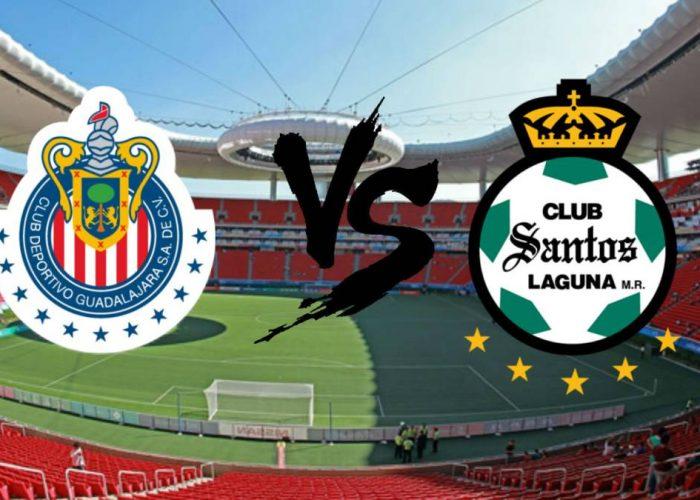 Chivas vs Santos Escudos